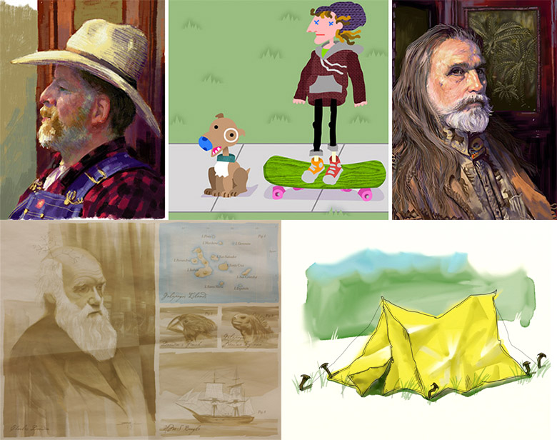 Digital Art Group Image