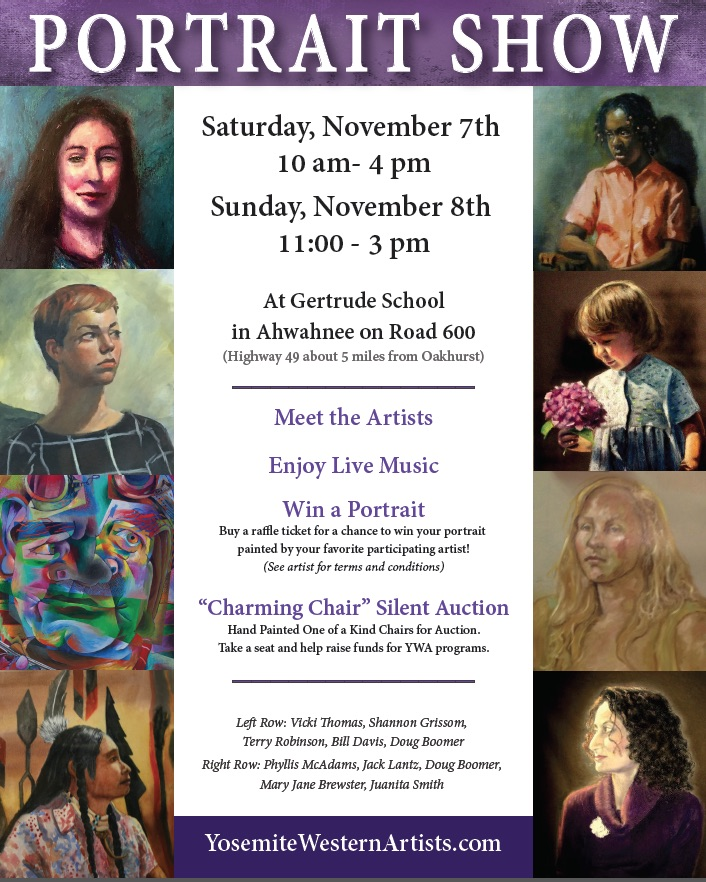 Call For Artists: Portrait Show