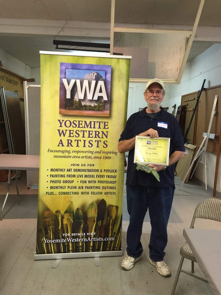 YWA Member of the Month: Larry Potter