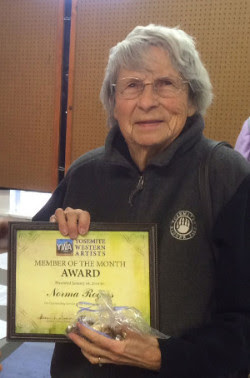 January Member of the Month: Norma Rogers