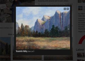 Gallery Overlay Window Image